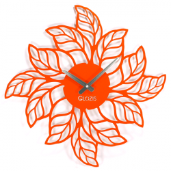 Wall Clock Glozis Leaves