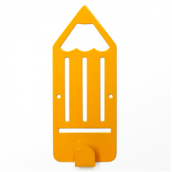 Wall Hanger Kids Glozis Pencil Yellow