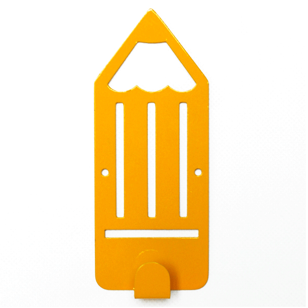 Вешалка настенная Glozis Pencil Yellow