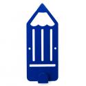 Вешалка настенная Glozis Pencil Blue