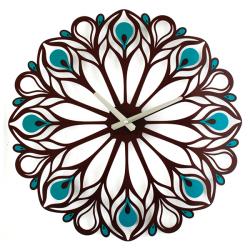 Настенные Часы Glozis Peacock Feather