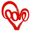 Вешалка настенная Glozis Love