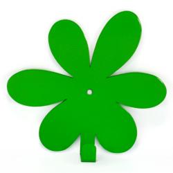 Вешалка настенная Glozis Flower Green