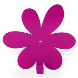 Wall Hook Glozis Flower Purple