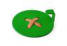 Вешалка настенная Glozis Button Green