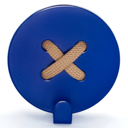 Glozis Button Blue