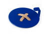 Вешалка настенная Glozis Button Blue