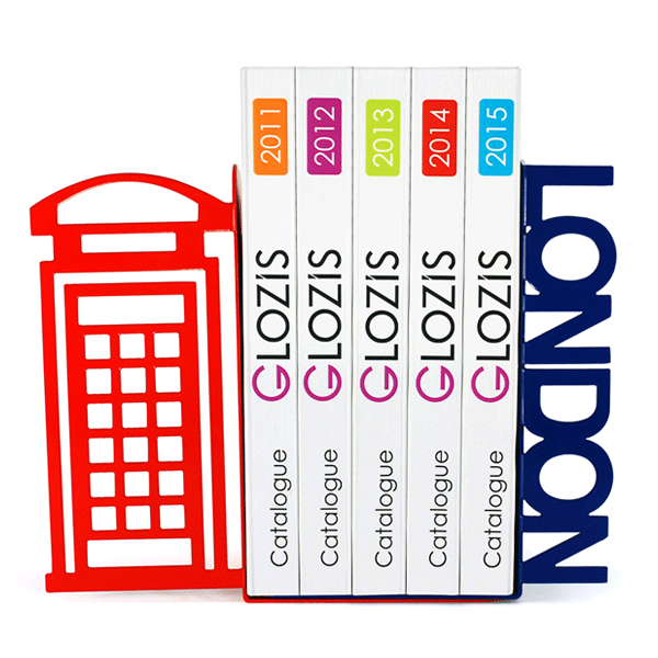 Упоры для книг Glozis London