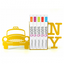Упоры для книг Glozis New York