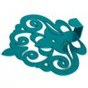 Настінний Гачок Glozis Ajur Turquoise