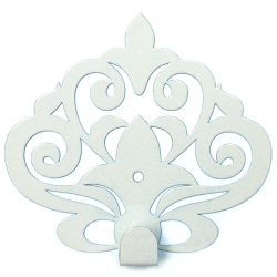 Wall Hook Glozis Ajur White