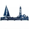 Вешалка настенная Glozis Sea