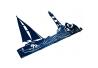 Вішалка Настінна Glozis Sea
