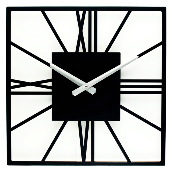 Wall Clock Glozis New York Black