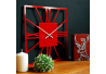Wall Clock Glozis New York Red