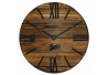 Wood Wall Clock Glozis Nevada Mokko