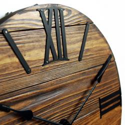 Wood Wall Clock Glozis Nevada Mokko