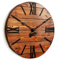 Настенные Часы Деревянные Glozis Nevada Rust