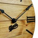 Настенные Часы Деревянные Glozis Nevada Gold