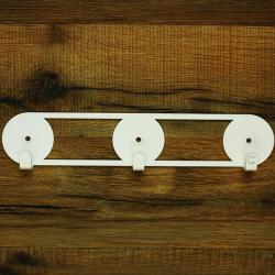 Wall Hooks Glozis Orbis White
