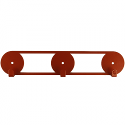 Wall Hooks Glozis Orbis Copper