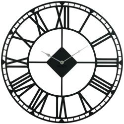 Wall Clock Glozis Oxford Black