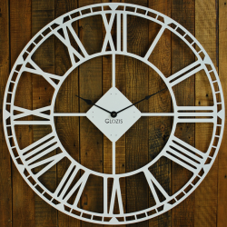 Wall Clock Glozis Oxford White