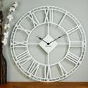 Wall Clock Glozis Oxford White